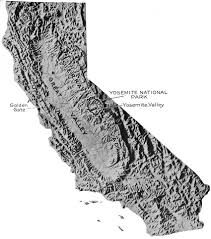 Sierra Nevada Mountains Map Usgs Geological Survey Professional Paper 160 Geographic Sketch
