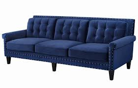 Navy Sleeper Sofa Sofas Fabric Sofas 80 Inch Sofa Light Blue Sleeper Sofa