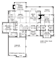 hillside floor plans plan of the week one story hillside walkout houseplansblog