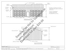 63 24 x 40 pole barn plans 4 car garage plans sds plans 63 24 x 40 pole barn plans 4 car garage plans free sample plan