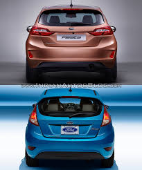 ford old 2017 ford fiesta vs 2013 ford fiesta rear old vs new indian