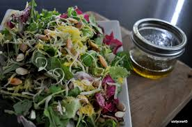 a salad to give thanks for food well said