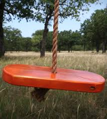 simple design and small size kids tree swings used one for