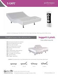 amazon com leggett u0026 platt s cape bed platform california king