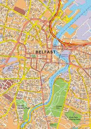 Northern Ireland Map Maps Of Belfast Northern Ireland Free Printable Maps