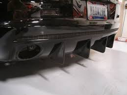2010 camaro rear diffuser aggressive rear diffuser for sale camaro5 chevy camaro forum