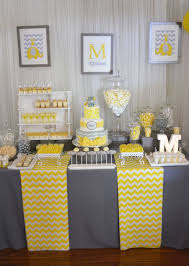 yellow and gray baby shower decorations amusing yellow grey baby shower decorations 56 for baby shower