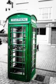 Red Phone Booth Cabinet Irish Phone Booth In Kinsale Photograph Irish Phone Booth