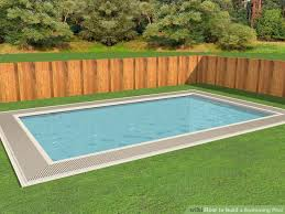 how to build a swimming pool 12 steps with pictures wikihow