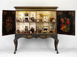 cabinet house an elegant exle of a dolls house in a cabinet made in the early