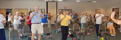 Armchair Aerobics For Elderly Senior Exercise Ymca Of Southern Arizona