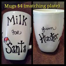 cookies for santa plate gifts that say wow crafts and gift ideas personalized