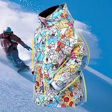 super colorful snow winter ski jacket kids outdoor snowboard jackets children