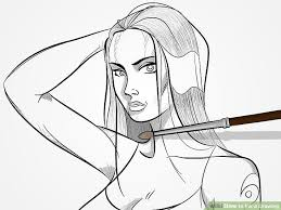 how to ink a drawing 14 steps with pictures wikihow