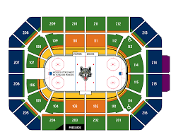 The Map Room Chicago Seating Chart U0026 Pricing Chicago Allstate Arena Chicago Wolves