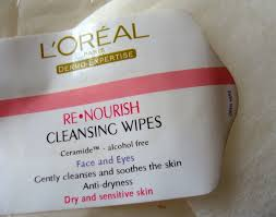 l 39 oreal re nourish face wipes review cleansers revitalift rich make up removing