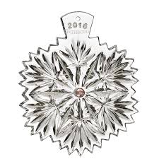 2016 waterford snowflake wishes serenity ornament