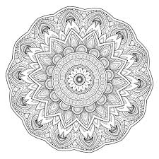 ideas collection printable mandala drawing template about