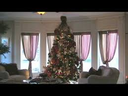 rotating christmas tree youtube