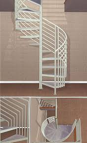 deck patio stairs spiral staircase kits mid level models