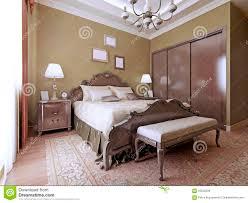 Luxury Bedroom Luxury Bedroom English Style Stock Photo Image 59222228