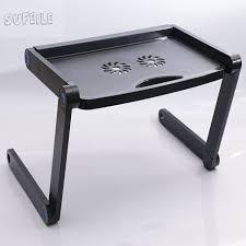 Bed Desk Laptop Sufeile 360 Rolling Adjustable Portable Notebook Desk Laptop Stand