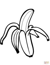ausmalbilder bananen malvorlagen kostenlos zum ausdrucken