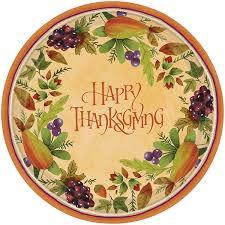 thanksgiving dinnerware