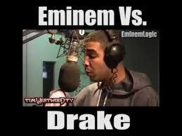 Eminem Drake Meme - rap battle drake vs eminem youtube