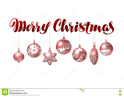 merry christmas banner vintage xmas decoration sketch vector