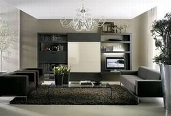 color design ideas with black furniture for home decoration