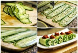 cuisiner les concombres rouleaux de concombres santé et frais pour l été les astuces de