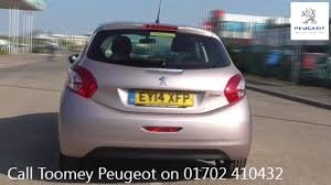 used peugot ey14xfp peugeot 208 active 1 2l used peugeot 208 toomey southend