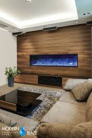 electric fireplace modern binhminh decoration