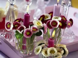 Table Decorations Centerpieces by 20 Candles Centerpieces Romantic Table Decorating Ideas For