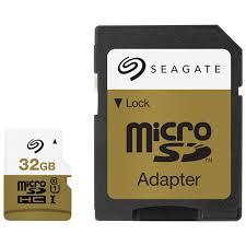 s card seagate 32gb 80mb s microsdhc memory card microsd microsdhc