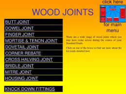 ppt wood joints powerpoint presentation id 205915