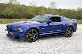 mustang gt cs impact blue 2013 ford mustang gt cs for sale mcg marketplace