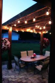 Exterior String Lights by Outdoor Patio String Lights Canada Patio String Lights Walmart