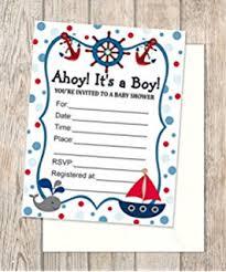 nautical baby shower invitations nautical baby shower invitations toys