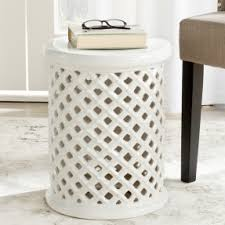 ceramic garden stool fits well in limited space of you garden