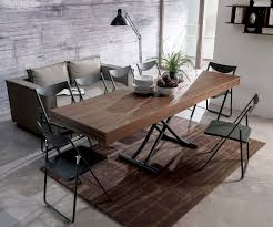 Telescoping Dining Table Ozzio Newood Tisch T123