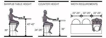 kitchen island stool height kitchen island stool height beautiful the width for each person is a
