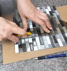 mosaique autocollante pour cuisine 8 astuces faciles pour rafraîchir la cuisine rénovation bricolage