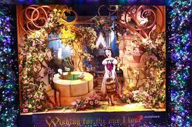 photos saks avenue u0027s magical snow white themed