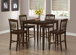 amazon com monarch specialties veneer 5 piece dining set