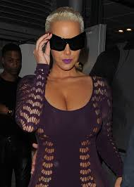 bye wiz u2014amber rose sports a bandage after leaving a tattoo removal