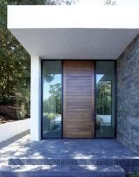 Entrance Door Design Example Of Custom Wood Door With Glass Surround Interior Barn