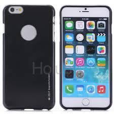 mercury goospery i jelly metal soft tpu back case for iphone 6