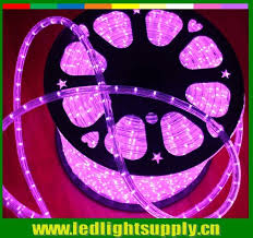 Led Rope Light Christmas Decorations by Ultra Thin Christmas Decoration 2 Wire Pink 24v 12v Led Rope Light